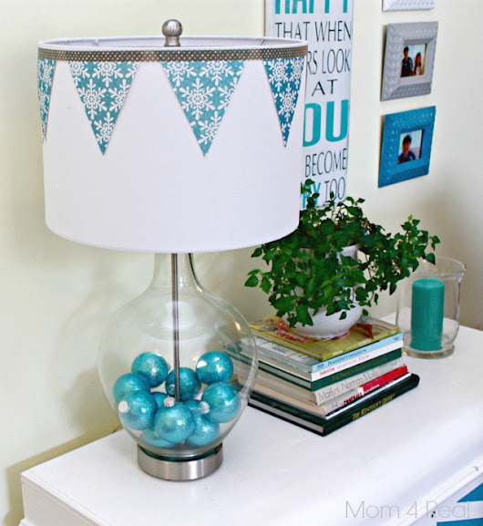 A Holiday Lamp Makeover Challenge With Lamps Plus! - Mom 4 Real