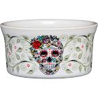 Fiesta Skull & Vine Sugar Ramekin, Open White 56841823