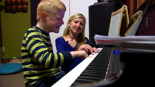 Local woman using music therapy to help people discover potential beyond their diagnosis