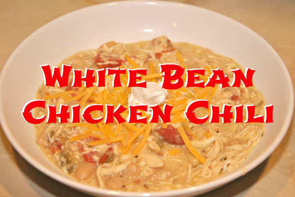 White Bean Chicken Chili (Crock-pot)