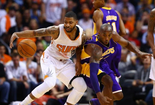 Marcus Morris shines against Kobe, Lakers' defense disappears