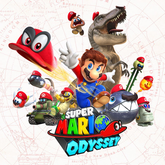 Super Mario Odyssey Has Been Named E3 Game Of Show By IGN