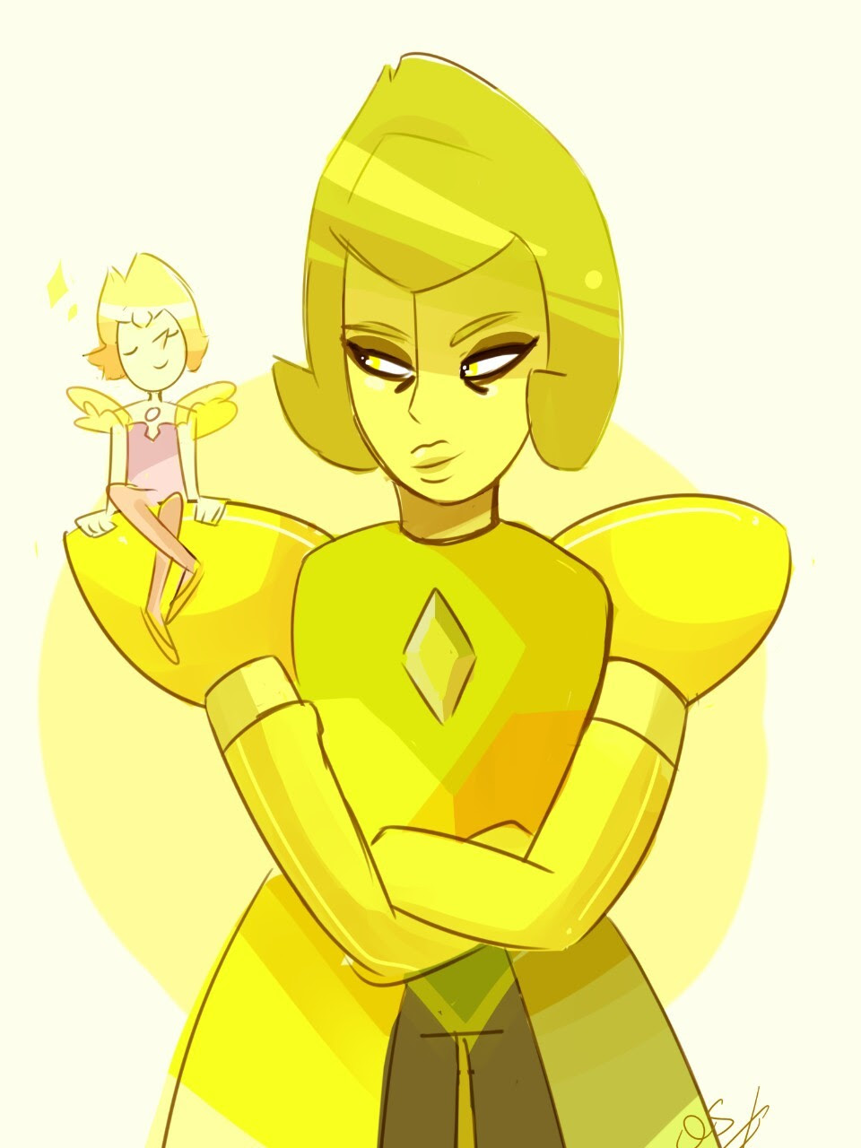 YD and her lil pearl