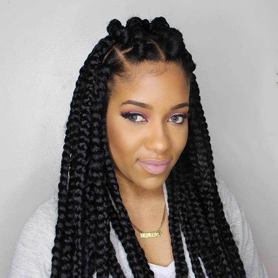 Jumbo box braids - Amazing Long Term Protective Style ...