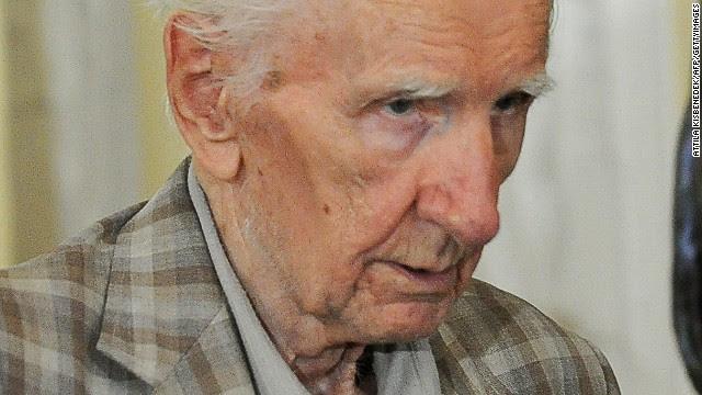 Hungría quiere juzgar a un presunto criminal nazi de más de 90 años