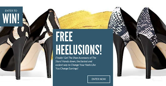ENTER TO WIN! 6 PAIRS OF HEELUSIONS ($180.00 Value)