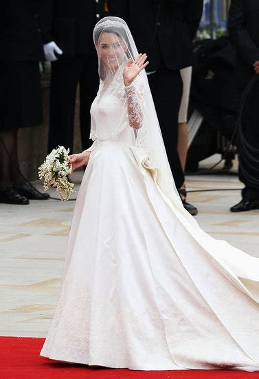 Kate Middleton's Wedding Dress is Alexander McQueen by