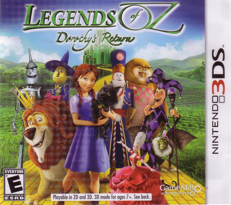 Legends of Oz: Dorothy's Return Nintendo 3DS