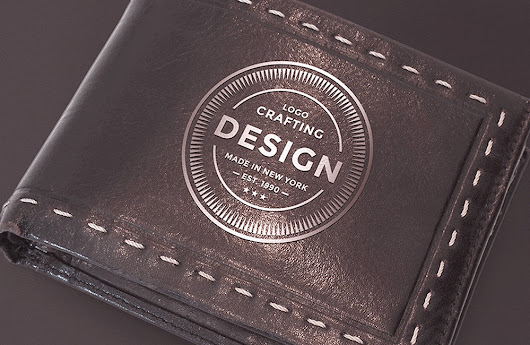 Free Leather Wallet Mockup PSD File | Antara's Diary