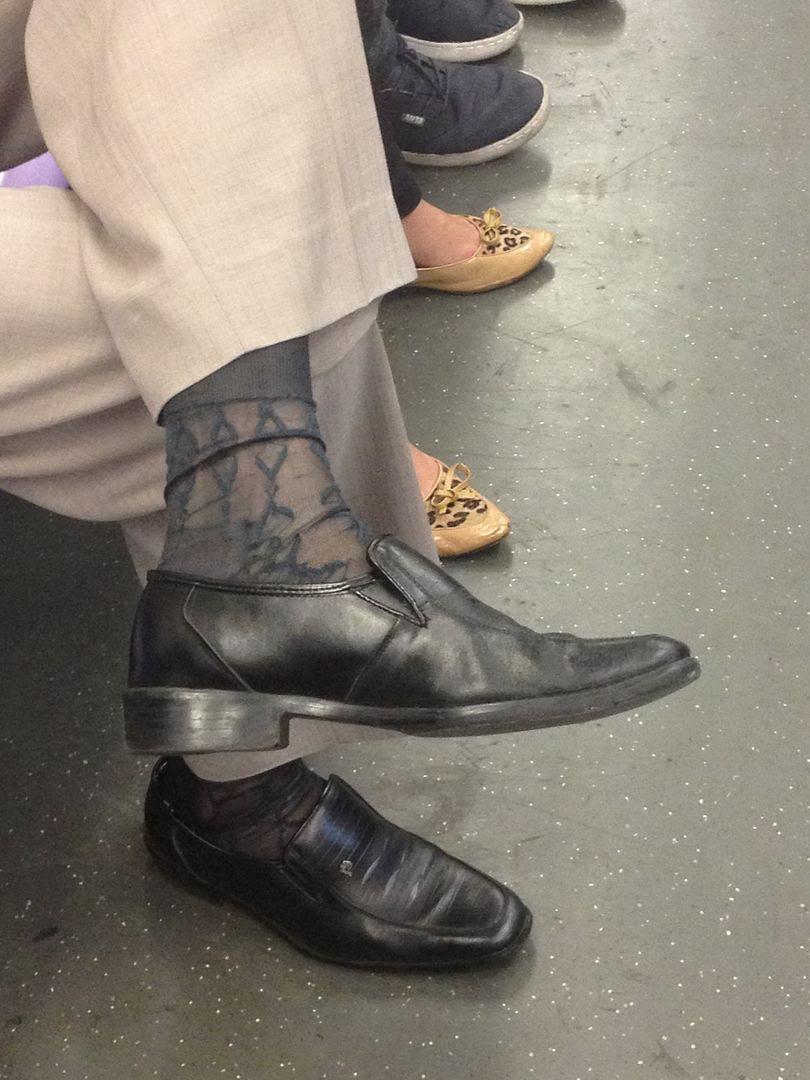 Flowery Nylon Socks on Men photo 2013-09-27125908_zpsc158a0be.jpg