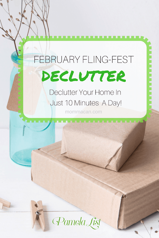 Declutter Your Home - Momma Can
