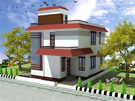 decorative small duplex house design home plans