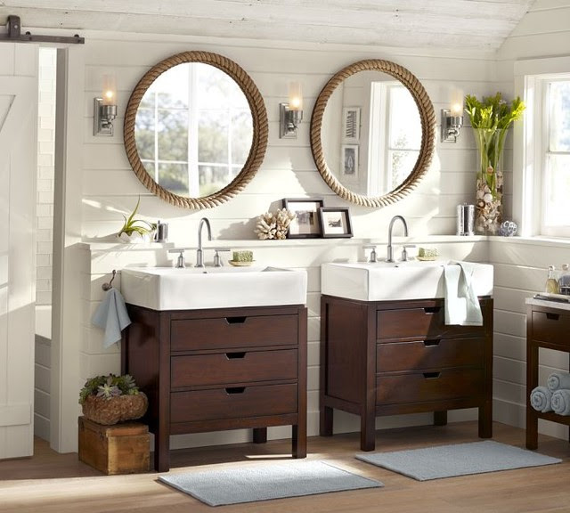 Seville Single Sink Console - contemporary - bathroom vanities and ...