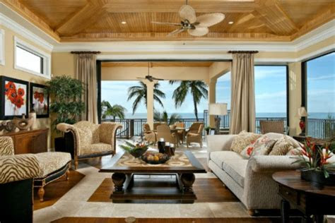 exotic tropical living room designs    enjoy