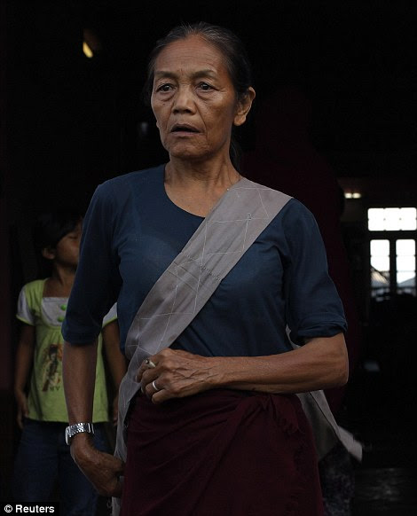 Khumi, 65 anos, segunda esposa de Ziona