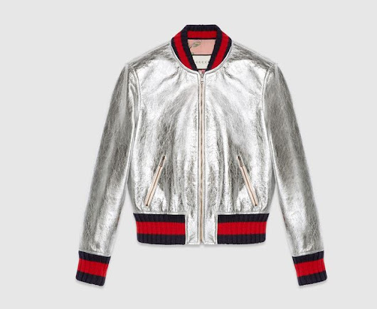 Metallic Bomber Jackets that are Gucci like