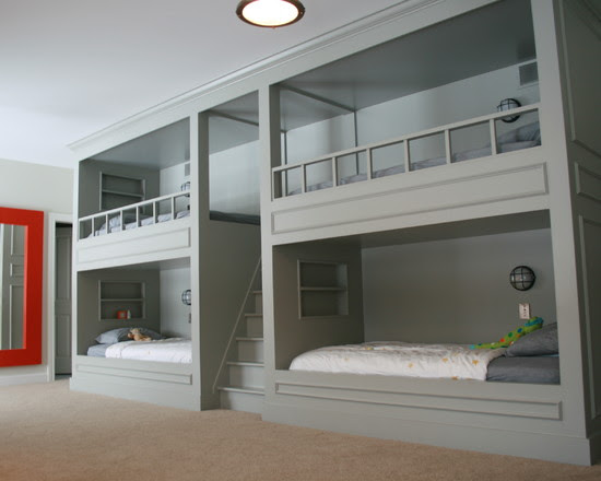 Boy Bunk Room