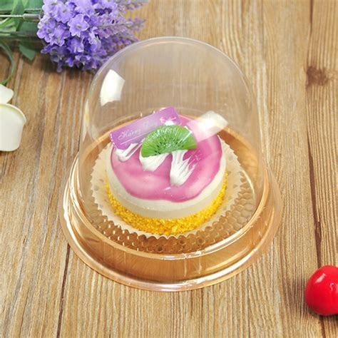 Plastic Cupcake Display Container With Clear Dome Lid 11