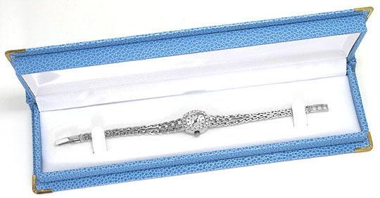 Foto 5, Orex Damen-Uhr Diamanten Lünette und Band 18K Weissgold, U2118