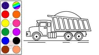 All Clip Of Menggambar Dan Mewarnai Mobil Truk Besar Bhclipcom
