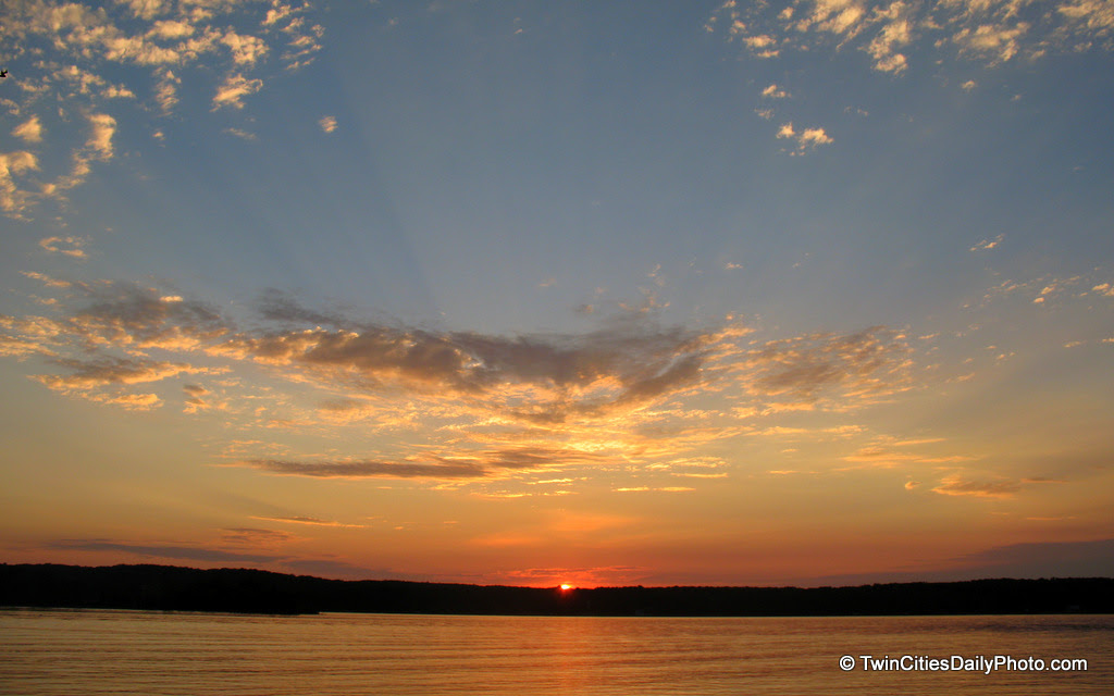 Summer 2012 is nearly completed. Let's enjoy this summer sunset and await the return of the warmer weather.