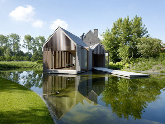 Villa: Pretty Vacation House Namely Wim Goes Lake House With ...