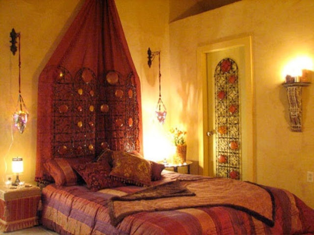 Morocco-Style Patio