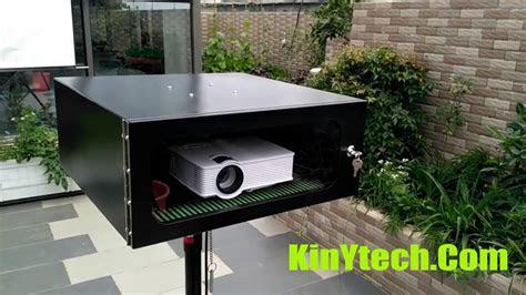 diy outdoor projector enclosure weatherproof projector