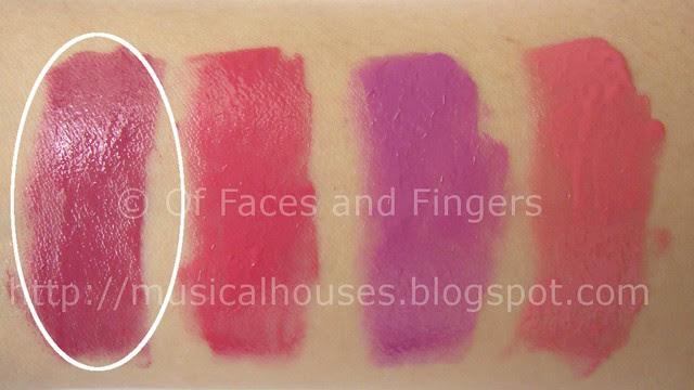 sleek pout paints mauve rose swatch