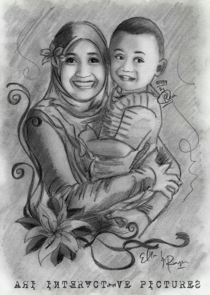 Kumpulan Gambar Kartun Ibu Mengendong Bayi Himpun Kartun