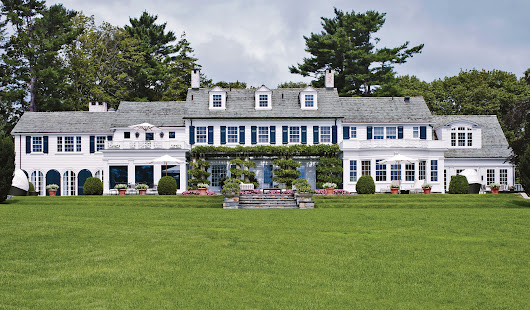 7 Elegant Colonial Exteriors from the AD Archives | Architectural Digest
