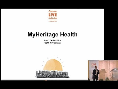 MyHeritage LIVE 2019: Introducing the MyHeritage DNA Health Test by Yaniv Erlich