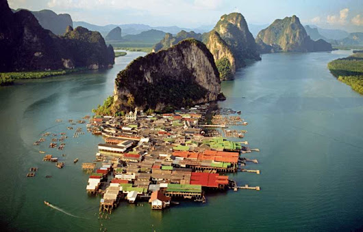 Ko Panyi: A picturesque Thai fishing village built on stilts