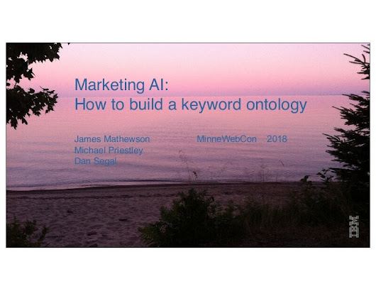 Marketing AI - How to Build a Keyword Ontology
