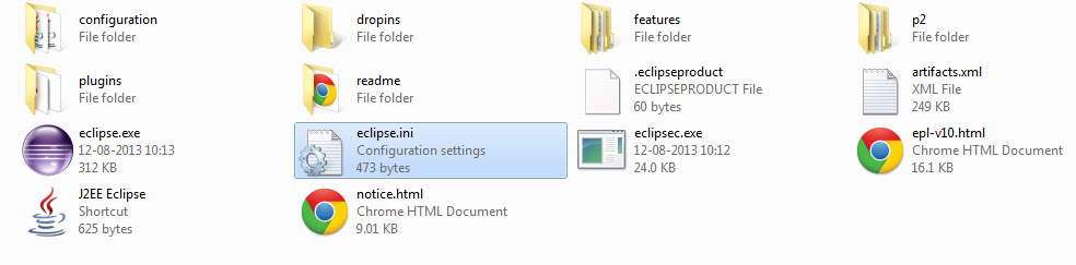 eclipse.ini