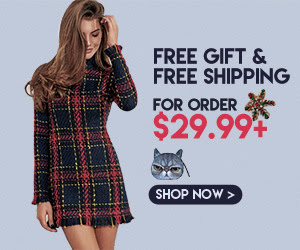 FREE GIFT+FREE SHIPPING,Dress Up to Celebrate Chic!