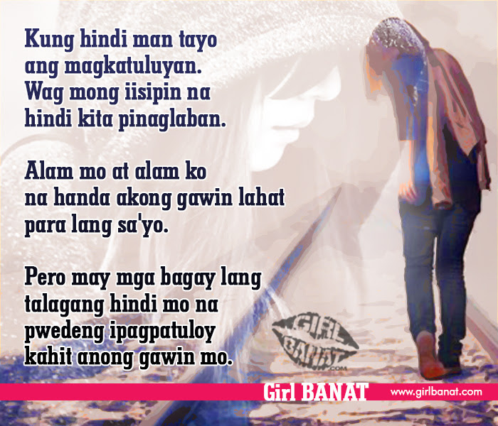 Tagalog Emo Quotes Archives Girl Banat Girl Banat