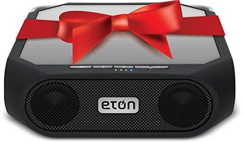 Eton Rugged rukus The solar-powered, Bluetooth-ready, smartphone-charging speaker