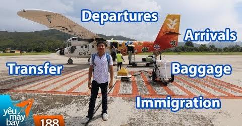 VLOG #188: Những từ tiếng Anh cơ bản khi đi bay đi nước ngoài | Yêu Máy Bay