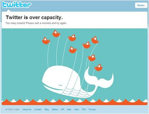 @twitter fail whale