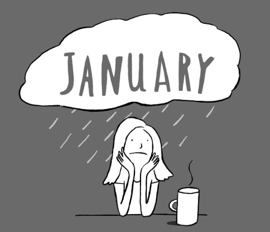How to survive January blues - BAKE