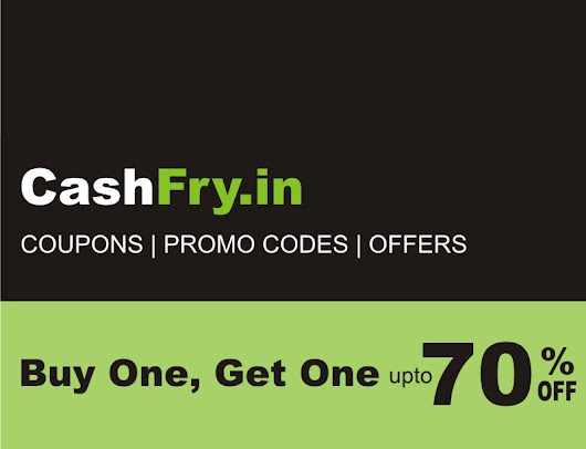 Cashfry - Coupons, deals, Promo Codes, Coupon Codes