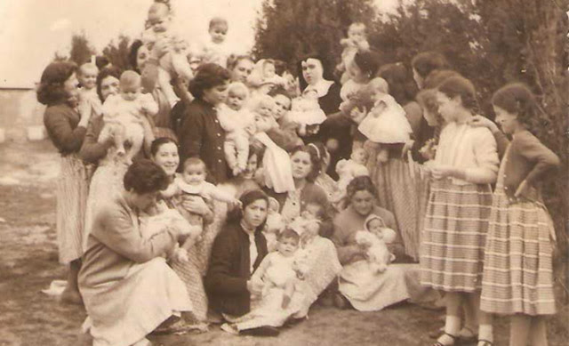 Imágen de Peñagrande en 1959, publicada en la web de antiguas internas.