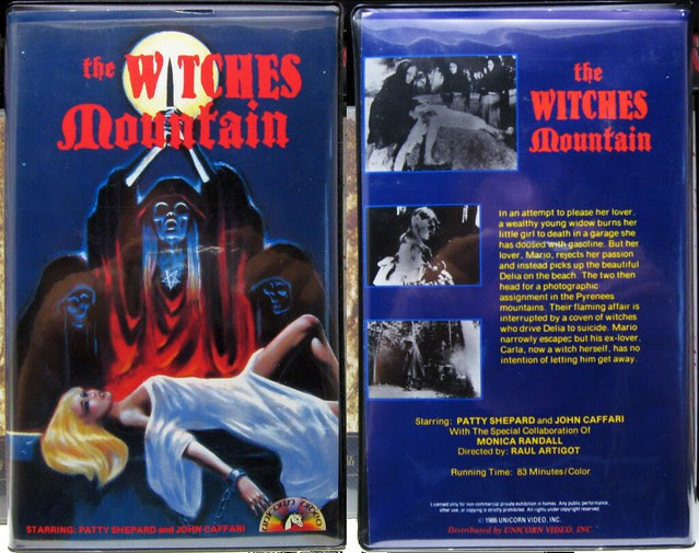 The Witches Mountain (VHS Box Art)