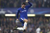 Respons Conte soal Kabar Hazard Diminati Real Madrid