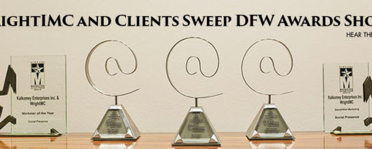 WrightIMC and Clients Sweep DFW Awards Shows - WrightIMC