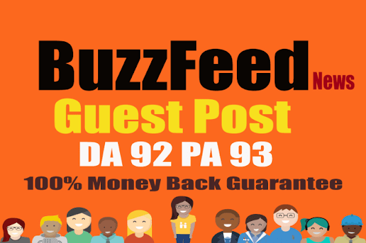 parveengorakh : I will write and publish article with backlink on buzzfeed for $5 on www.fiverr.com