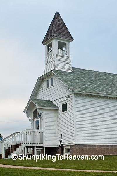 Fair Valley Schoolhouse, Sauk City Historic Park, Sauk County, Wisconsin