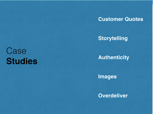 Five Tips for Writing Case Studies that Rock by @St2Aedy