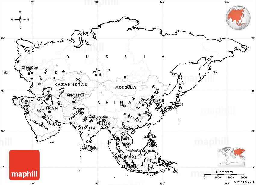 35+ Trend Terbaru Printable High Resolution Blank Map Of